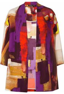 Natori Kimono Estampado - Roxo