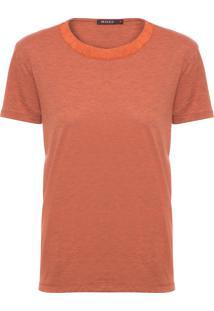 Camiseta Feminina Roots - Laranja