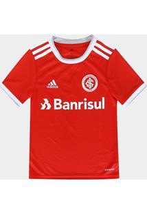 Camisa Internacional Infantil I 20/21 S/Nº Torcedor Adidas - Masculino