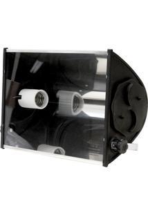 Refletor Ta 400 Mat Eng -Taschibra - Preto