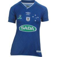 Camiseta Fem. Umbro Cruzeiro Volei Of.3 01ff136b9d143