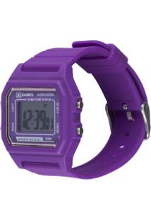 Relogio Digital X Games Xlppd030 - Roxo