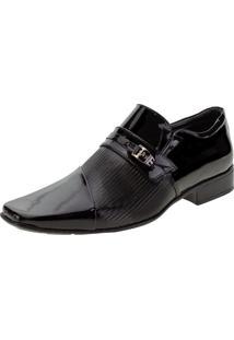Sapato Masculino Social Jota Pe - 77710 Verniz/Preto 37
