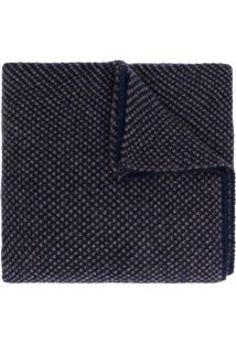 Dell'Oglio Cachecol De Cashmere E Tricô - Azul