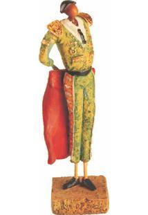Escultura Decorativa De Resina Toureiro I