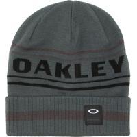 Gorro Oakley Rockgarden Cuff Beanie Cinza 41885851e24