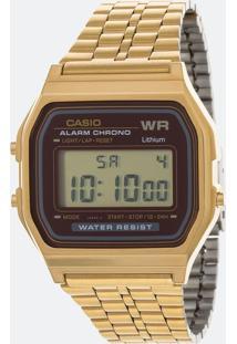 Relógio Feminino Casio Vintage A159Wgea 5Df Digital