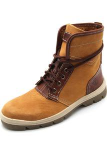 Bota Couro Timberland Cityblazer Leather Boot Wheat Amarela