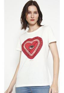 """Camiseta """"Esse Amor Ninguã©M Segura..."""" - Off White & Vercolcci"""