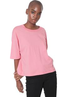 Camiseta Vans Wn Survey Top Strawberry Rosa