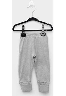Calça Bebê Marlan Suedine - Masculino-Mescla