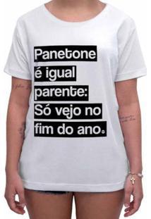 Camiseta Impermanence Estampada Panetone Feminina - Feminino