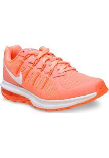 Tenis Fem Nike 819154-600 Air Max Dynasty Msl Laranja Neon