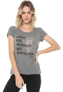 Camiseta Forum Estampada Cinza