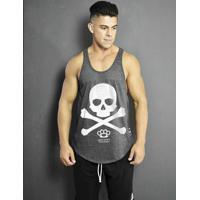 Netshoes. Regata Cavada - Skull X - Masculino 3e01a15fe93