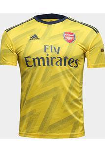 Camisa Arsenal Infantil Away 19/20 S/Nº Torcedor Adidas - Masculino