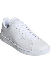 Tênis Adidas Advantage Base Masculino - Branco - Masculino-Branco