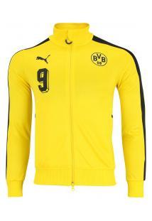Jaqueta Borussia Dortmund 17/18 T7 Puma - Masculina - Amarelo/Preto