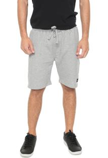 Bermuda Hang Loose Reta Fabric Cinza