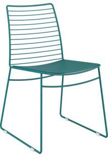 Kit 2 Cadeiras 1712 Couríssimo Móveis Carraro Azul