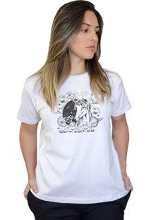 Camiseta Boutique Judith Magic Unicorn Branco - Branco - Feminino - Dafiti