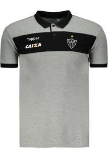 5315198778 Polo Topper Atlético Mineiro Viagem 2017 - Masculino