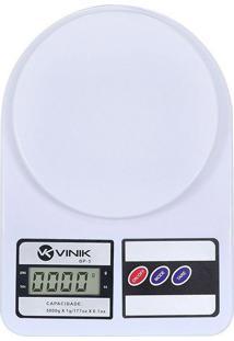 Balança Digital De Cozinha Vinik Bp-5 Branco