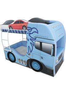 Beliche Cama Carro Cegonha Azul - Azul - Menino - Dafiti