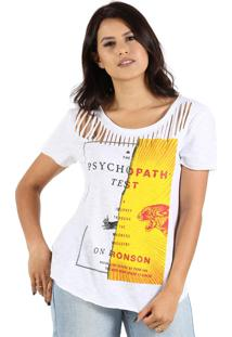 T-Shirt It'S & Co Psychopath Off-White