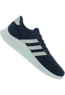 Tênis Adidas Lite Racer 20 - Feminino - Azul Escuro