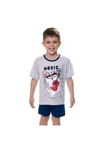Pijama Masculino Infantil Music