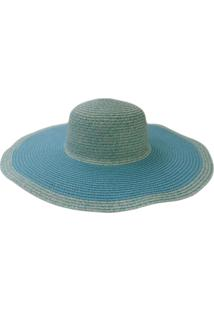 Chapéu De Palha Zohar Fátima Azul