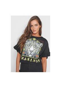 Camiseta Triton Fearless Preta