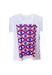Camiseta Feminina - Olho Grego