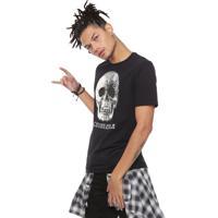 8ef528fb4 Camiseta Cavalera Skull Pearl Preta