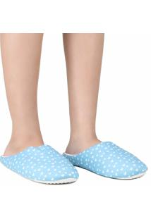 Pantufa Chinelo Europa Stand Tall Darling Azul