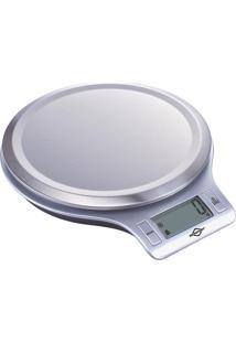 Balança Digital De Cozinha Brasfort 5Kg Cinza