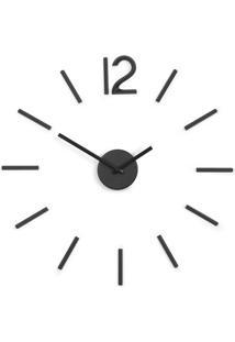 Relógio De Parede Blink Preto