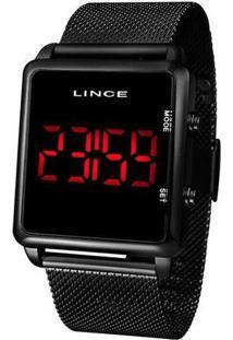 Relógio Lince Feminino Classic Digital Preto Mdn4596L-Pxpx