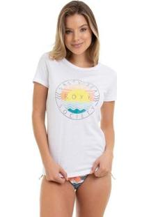 Camiseta Rx M/C Salt Sea Feminina - Feminino-Branco