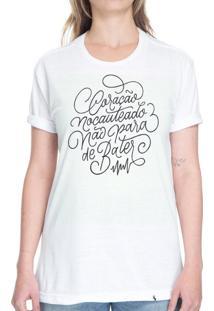 Coração Nocauteado - Camiseta Basicona Unissex