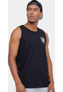Camiseta Regata Nfl Oakland Raiders New Era Big Masculina - Masculino