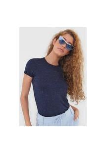 Camiseta Malwee Botonê Azul-Marinho