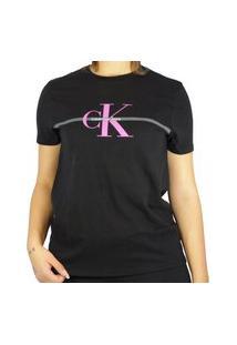 Camiseta Calvin Klein Re Issue Preto