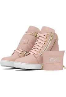 Sneaker K3 Fitness Breezy Rosê