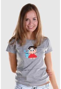 Camiseta Bandup! Turma Da Mônica 50 Anos Modelo 6 Anos 80 - Feminino