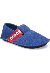 Classic Slipper - Azul & Vermelhocrocs