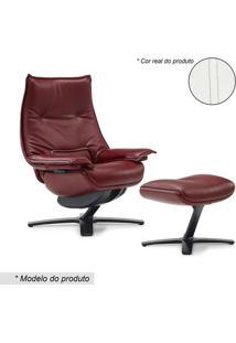 Poltrona Linear 601K King- Branco- 114X90-115X82Cm