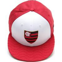 7db4519291ebc Boné New Era Flamengo Vermelho Branco