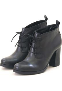 Ankle Boot Agatha Levie Salto Preto